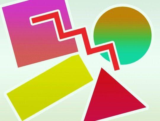 набор геометрических фигур, кто ты: круг или квадрат? (тест по психологии)