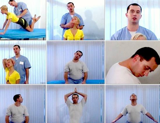гимнастика Шишонина для шеи