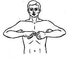 массаж кистей рук , техника массажа