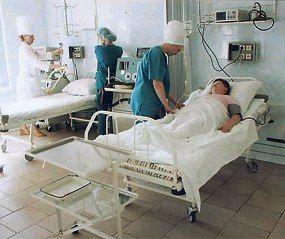 в больнице, последствия стресса