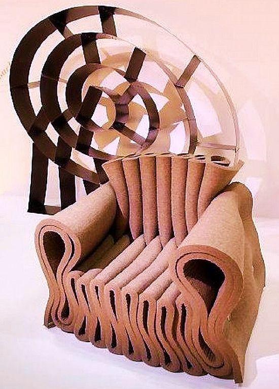 """зигзаг кресло, элемент психологического теста """"геометрические фигуры"""""""