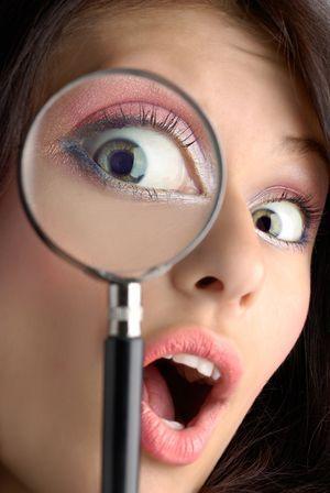 Как определить по глазам беременность