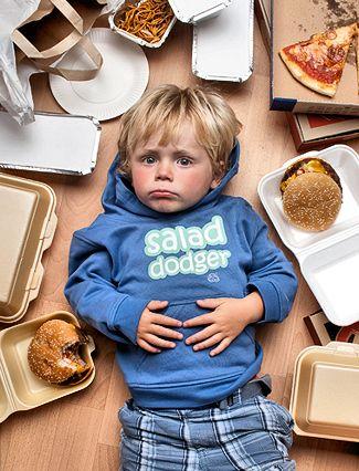 вредные продукты для детей