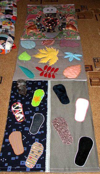 коврик для массажа своими руками из ткани