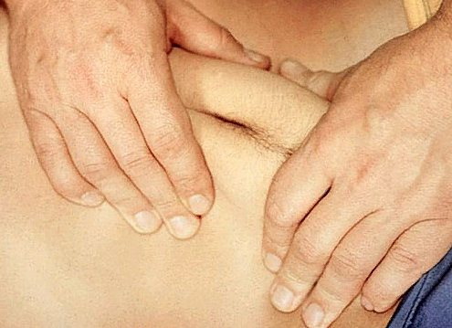 висцеральный массаж живота