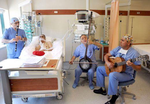 лечебное воздействие музыки
