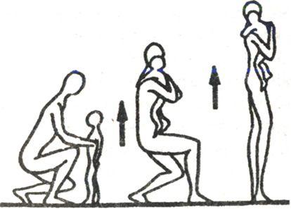 правильное поднятие ребенка, чтобы не сорвать спину