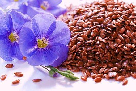 семена льна, очищение семенами льна