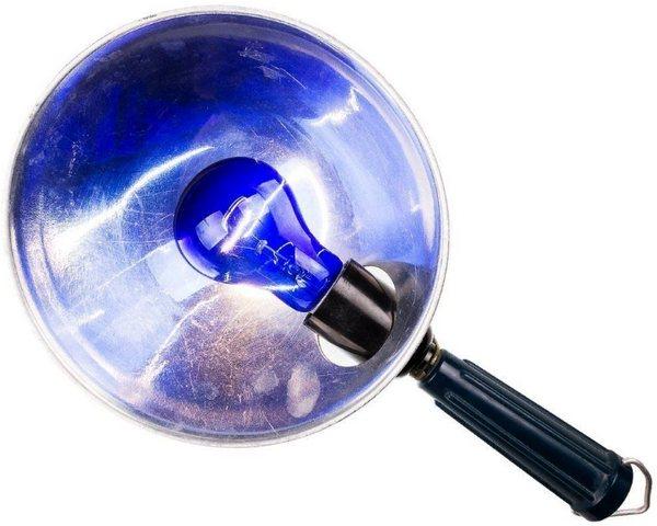 синяя лампа Минина при простуде