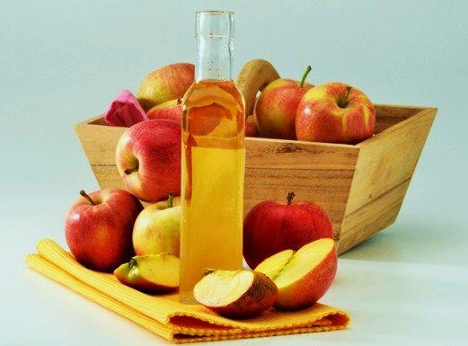 польза яблочного уксуса, лечение, приготовление яблочного уксуса дома