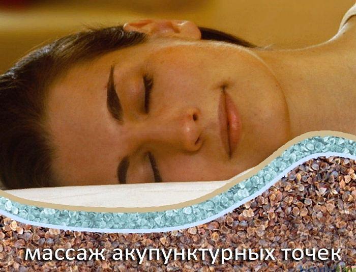 польза ортопедической подушки из гречневой шелухи