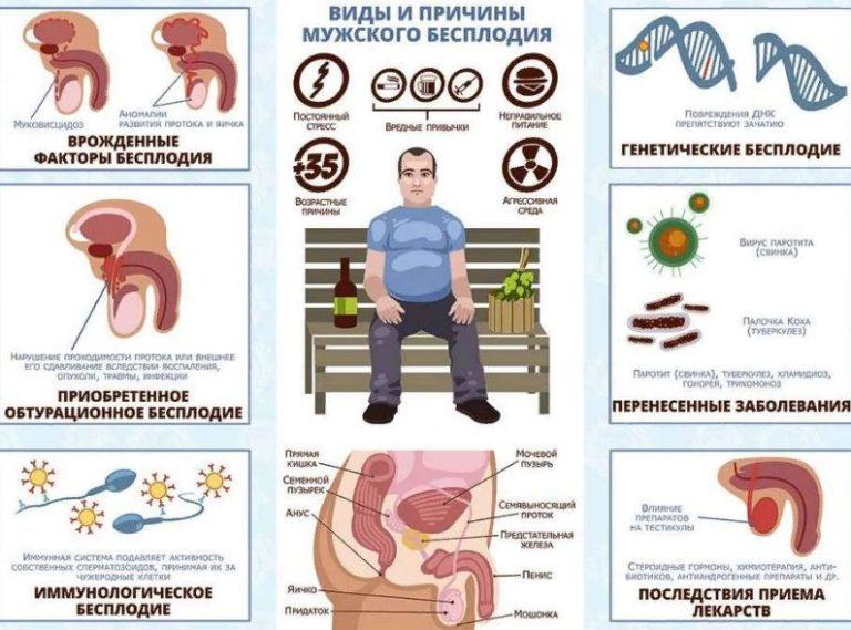При простатите бывает бесплодие какие медикаменты для лечения простатита