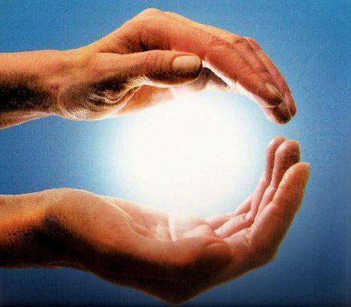 Наложение рук на тело лечение польза