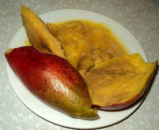 манго внутри в разрезе польза как слабительное