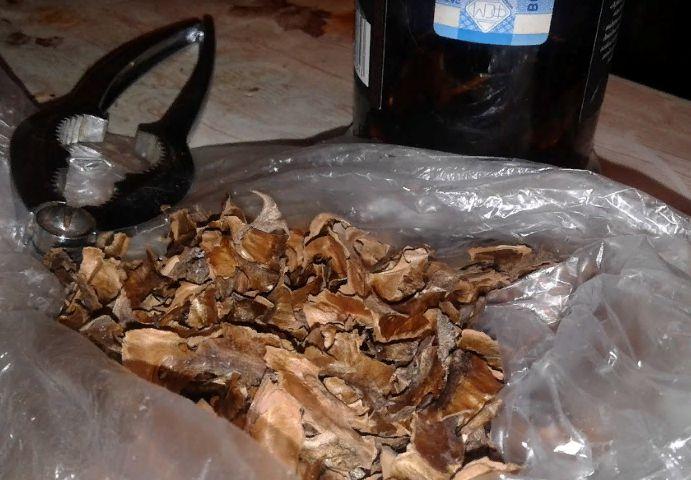 настойка перегородок грецких орехов