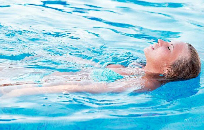 лечение всд - нормализация уровня стресса плаванием