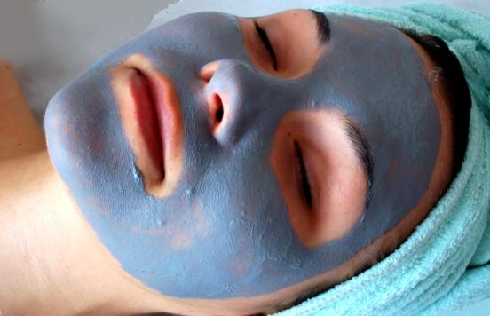 голубая глина применение, маски