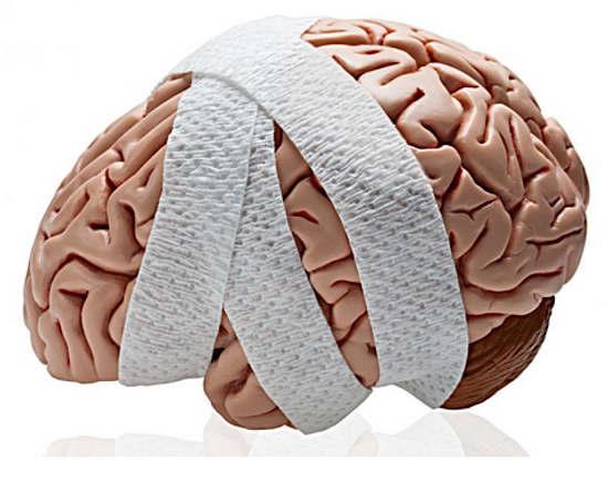 Народная медицина в лечении сотрясения мозга