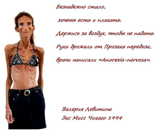 анорексия - что это такое