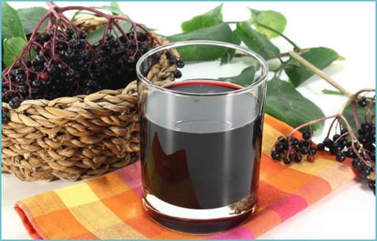 сок из черноплодной рябины польза