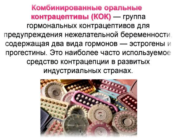метод оральной контрацепции
