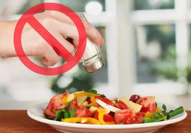 бессолевая диета - меню