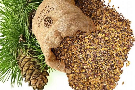 польза скорлупы кедрового ореха - настойка