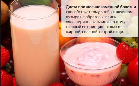 диета при ЖКБ