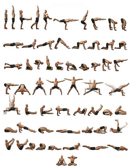 Упражнения для йоги для начинающих в домашних условиях