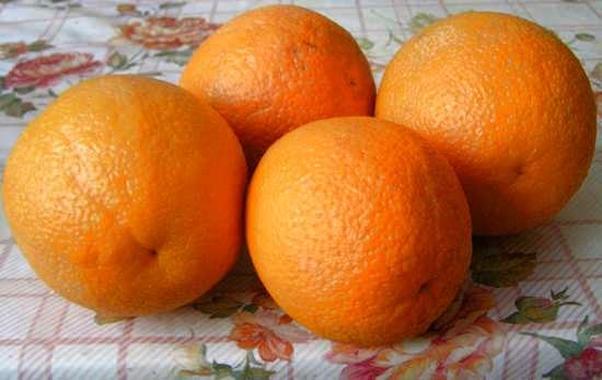 апельсины - полезные свойства