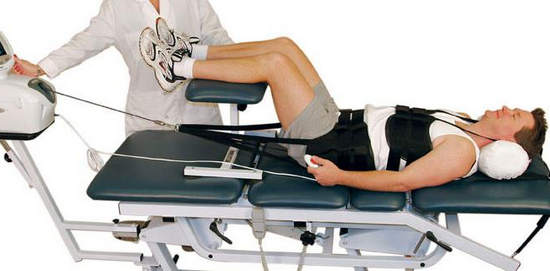 Вытяжение, как лечение межпозвоночной грыжи
