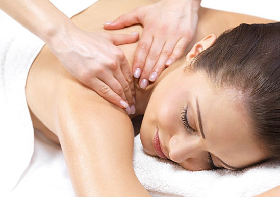 отложение солей на шее массаж