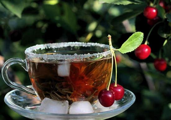 вишневые веточки - польза, чай