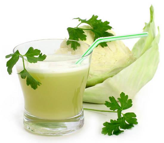 капуста и ее сок для очищения