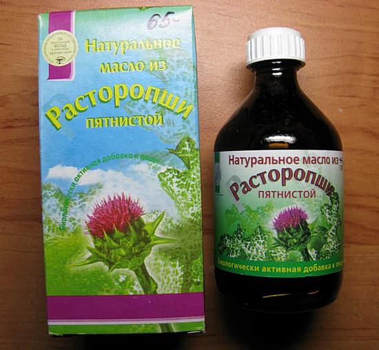Масло расторопши, польза и вред: как принимать для лечения