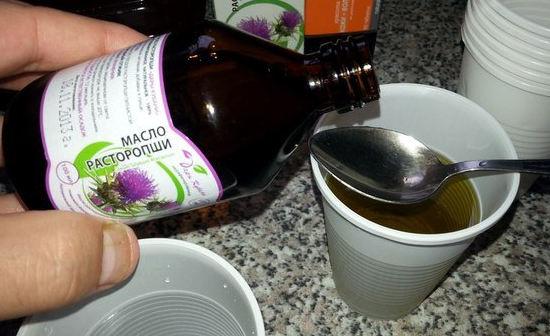 применение масла расторопши в народной медицине