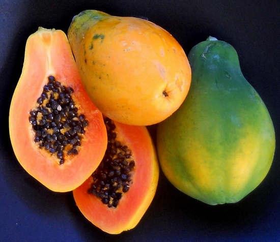 польза фрукта папайя