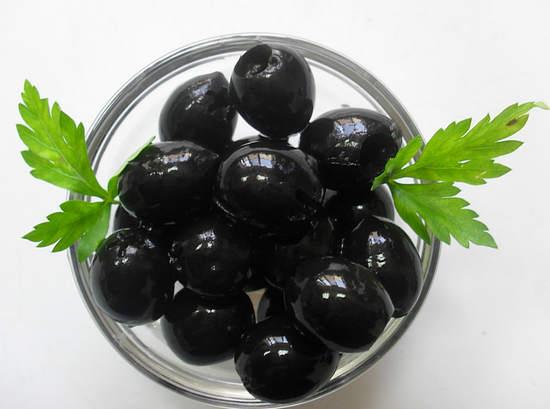 польза консервированных маслин и вред