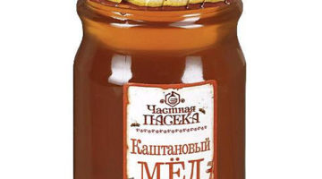 Каштановый мед — полезные свойства и противопоказания