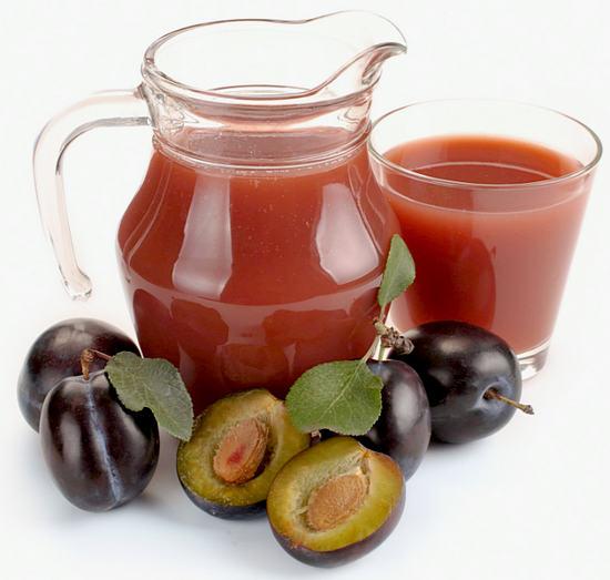 сливовый сок - польза и вред