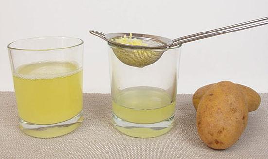 вред сока картофеля