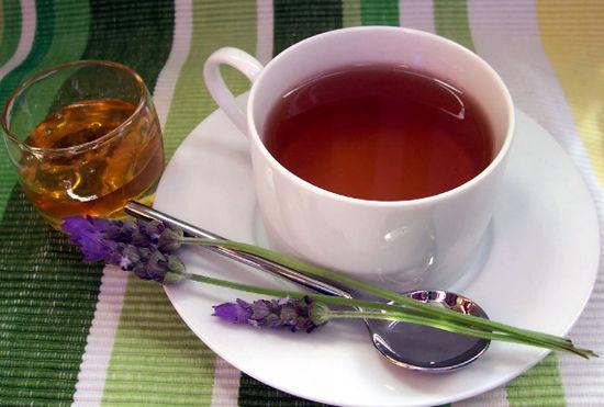 чай с лавандой - польза