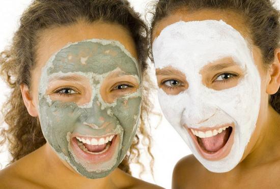 маски при очищении кожи лица