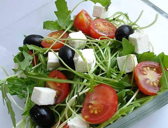 руккола в салате