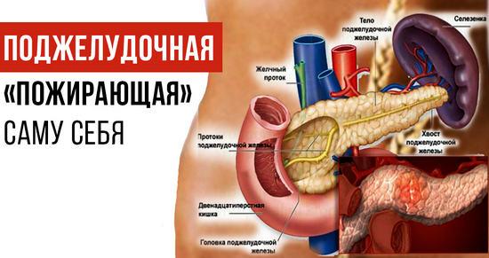 панкреатит - симптомы и лечение