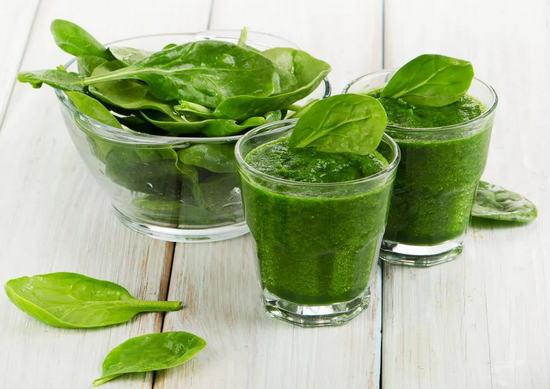 шпинат в похудении и лечении