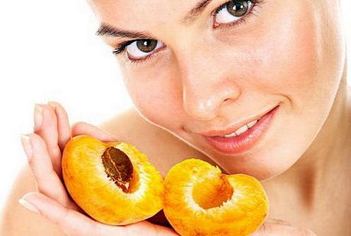 абрикосовое масло для лица. волос