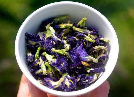полезные свойства синего чая, как заваривать