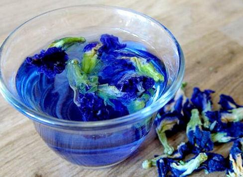 польза синего чая и вред