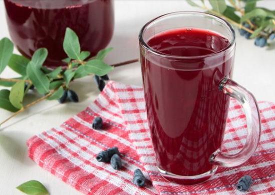 польза ягод жимолости - компот